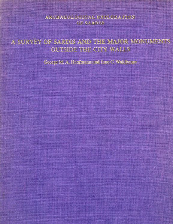 R1: A Survey of Sardis and the Major Monuments Outside the City Walls